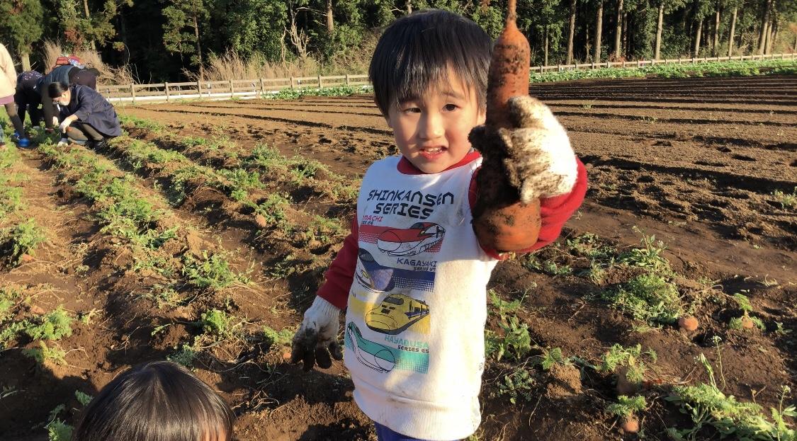granping the farm