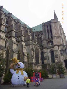 シャルトル大聖堂(Cathédrale Notre-Dame de Chartres)